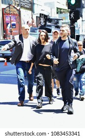 HOLLYWOOD -MAY 3 2018: Several celebrities spotted walking in Hollywood for absolutely no reason May 3, 2018.