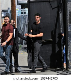 HOLLYWOOD - MAY 7, 2018: LA Dodger Cody Bellinger comes to Hollywood for an appearance on Jimmy Kimmel Live! May 7, 2018.