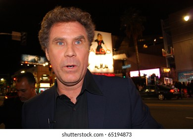 HOLLYWOOD - NOVEMBER 15: Comedian Will Ferrell at the premiere of the movie Burlesque at Grauman's Chinese Theatre November 15, 2010 Hollywood, CA.