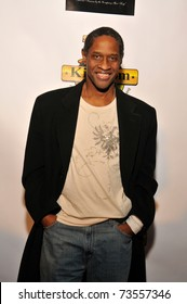 """HOLLYWOOD - NOVEMBER 20.  Tim Russ arrives at Madame Tussaud's Wax Museum for the """"American Music Awards Pre-Party"""" event in Hollywood on November 20, 2010."""