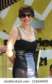 HOLLYWOOD - OCTOBER 3, 2012:Producer Gale Anne Hurd on stage at her Walk of Fame October 3, 2012 Hollywood, CA.