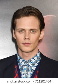 "HOLLYWOOD - SEP 5:  Bill Skarsgard arrives to the ""IT"" World Premiere  on September 5, 2017 in Hollywood, CA"