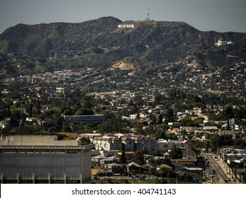 Hollywood Sign from Downtown LA