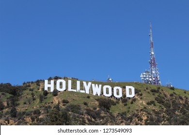 Hollywood Sign, Los Angeles, California, USA