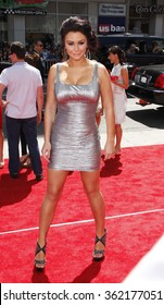 """HOLLYWOOD, USA - Jenni 'JWoww' Farley at the World Premiere of """"The Three Stooges: The Movie"""" held at the Grauman's Chinese Theater in Los Angeles, USA on April 7, 2012."""