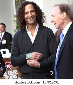"""HOLLYWOOD-OCTOBER 10, 2013:Kenny G attends Hollywood Walk of Fame ceremony for Kenneth """"Babyface"""" Edmonds October 10, 2013 Hollywood, CA."""