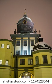 Holmen tower in night light