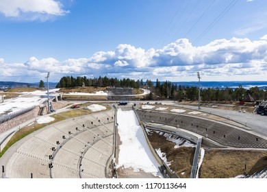 Holmenkollbakken is a large ski jumping hill located at Holmenkollen in Oslo, Norway.