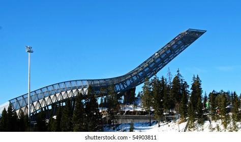Holmenkollen new ski jump hill