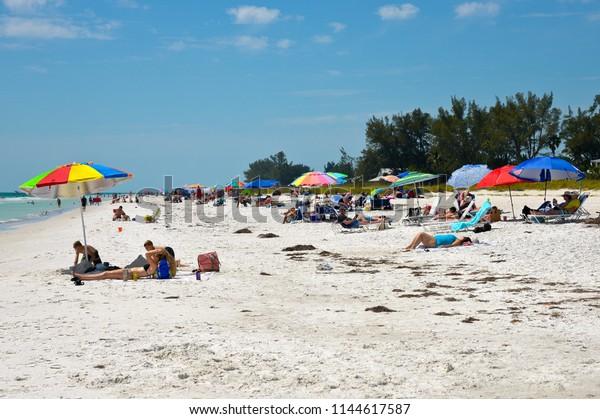 Holmes Beach Anna Maria Island Fl Stock Photo (Edit Now