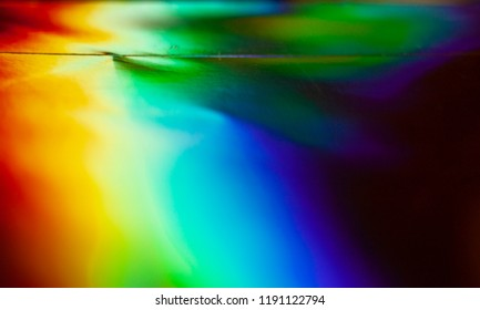 Holographic foil texture with multiple colors