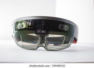 holographic headset isolated