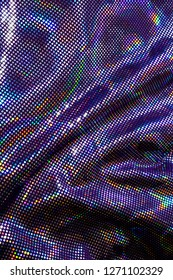 Holographic Sequin Rainbow Shiny Material Background