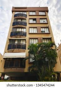 HOLON, ISRAEL- FEBRUARY 14, 2019: High residential buildings in Holon, Israel