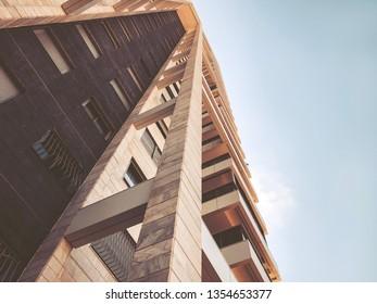 HOLON, ISRAEL- SEPTEMBER 2, 2019: High residential buildings in Holon, Israel