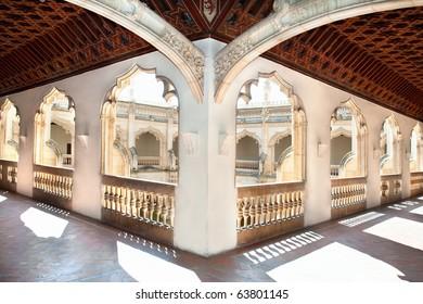 Hols of Claustro de Saint Juan de los Reyes in Toledo, Spain