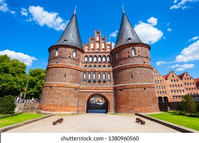 Holsten Gate or Holstein Tor or later Holstentor is a city gate and museum in the Lubeck old town in Germany