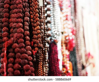 Holy beads stall India