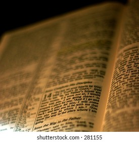 Holy Bible Page