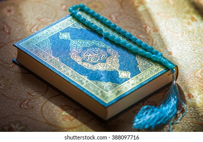 the holy book the Koran.