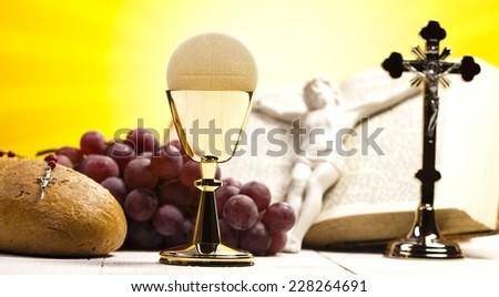 holy communion bread wine stock photo edit now 228264691