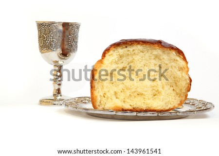 holy communion bread wine grapes stock photo edit now 143961541
