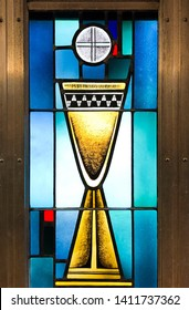 Holy Communion and the Chalice. Taken at Sacred Heart Church in Biloxi, MS on May 25, 2019.