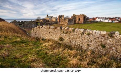 Holy Island Lindisfarne Priory Northumberland