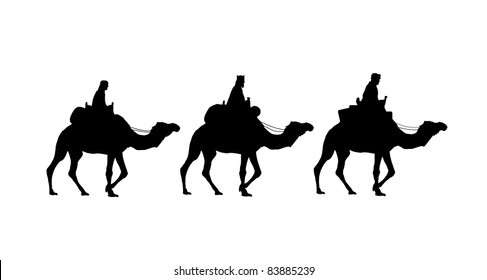 holy kings on camels