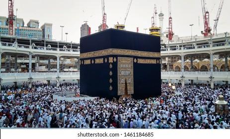 Holy Makkah Kaabah clicked at Makkah ,Saudi Arabia Month of April 2nd 2019