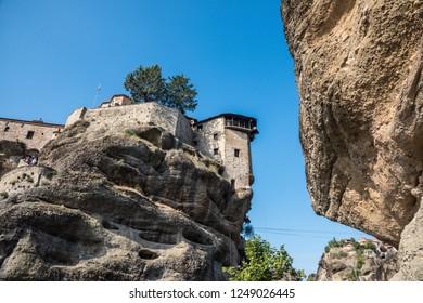 Holy Monastery of Great Meteoron, Kalabaka, Greece. Exterior
