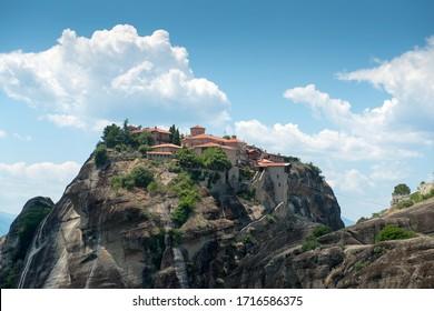The Holy Monastery of Great Meteoron in Meteora - complex of Eastern Orthodox monasteries, Greece