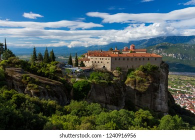 The Holy Monastery in Meteora, Greece.