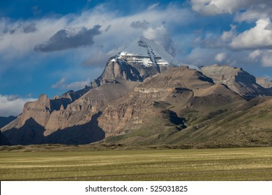 Holy mountain Kailash in Tibet, China