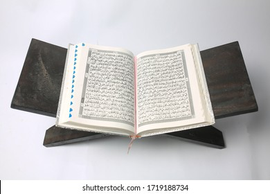 Holy Qur'an the holy book of Muslims. Purwokerto,Central Java, Indonesia1 Mei 2020.