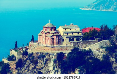 A Holy skete of the Saint Anna on Athos