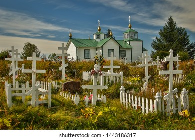 Holy Transfiguration of Our Lord Chapel, near Kenai in Alaska