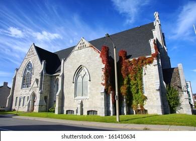 Holy Trinity Baptist Church Kingston Ontario Canada 19th century historic heritage building