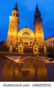Holy Trinity Cathedral in Sibiu. Sibiu, Sibiu County, Romania.