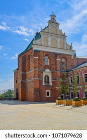 Holy Trinity Chapel in the Courtyard of Medieval Castle, Lublin, Poland