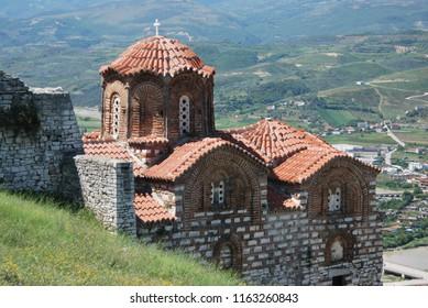 Holy Trinity Church in the citadel of Berat, Albania