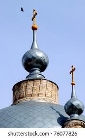 Holy Trinity Church of Russia, Ryazan region, Kasimov district, town of Gus-iron. Monument Romanticism abroad XVIII-XIX century