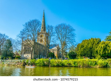 Holy Trinity Church in Stratford upon Avon, England