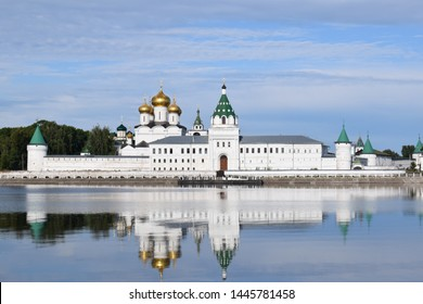 Holy Trinity ipatiev monastery in Kostroma.The cradle of Romanov dynasty.