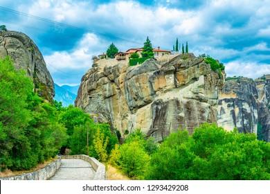 Holy trinity monastery of Meteora, Greece
