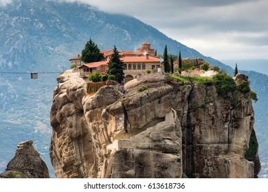 Holy Trinity Monastery, Meteora, Greece
