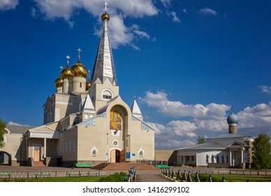 Holy Vvedensky Cathedral - the cathedral of the Karaganda diocese in the city of Karaganda