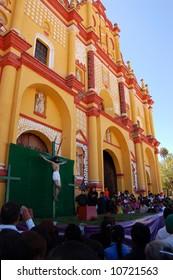 Holy Week ceremonies in Chiapas, Mexico