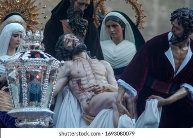 Holy Week in Seville, Brotherhood of Santa Marta