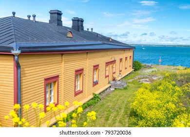 Home along the ocean, Baltic Region, Europe.